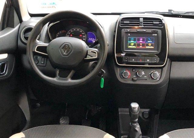 Renault Kwid 1.0 Intense Laranja Ano 2018 - Foto 9