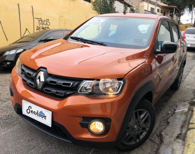 Renault Kwid 1.0 Intense Laranja Ano 2018 - Foto 3