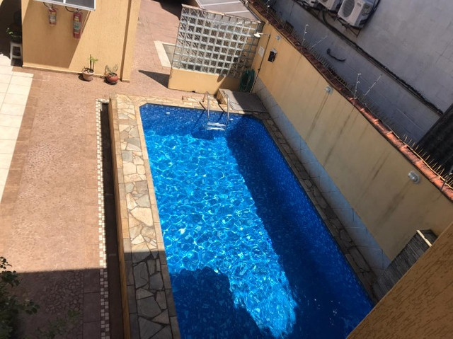 1 dorm, piscina, salão de festas, aceita financiamento bancário ou permuta!!! - Foto 4