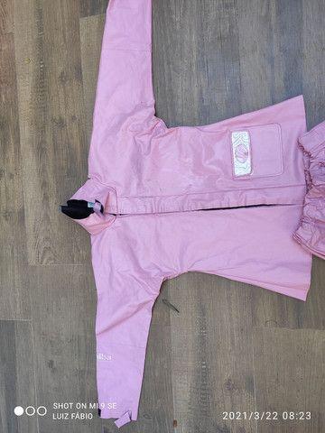 Capa chuva Alba -  rosa - Foto 2