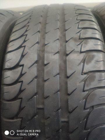 Pneu 205/55-16 Michelin, Bridgestone, Goodyear sem concertos em média 70% de vida útil - Foto 3