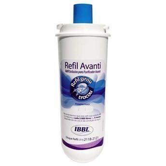 Refil filtro purificador de agua soft, ibbl, masterfrio, superzon, consul, electrolux