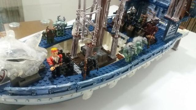 Navio Mega Bloks Dragoon da Neve Ice Fire - Foto 5