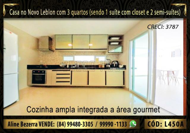 Ampla casa no Novo Leblon com 3 quartos, já com móveis projetados - Foto 7