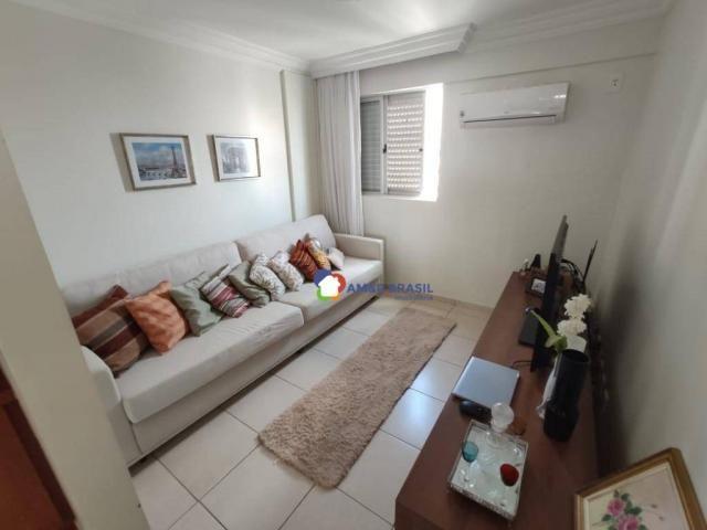 Apartamento com 3 dormitórios à venda, 126 m² por r$ 510.000,00 - setor bueno - goiânia/go