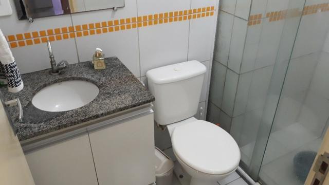 FH - Alugo Apartamento no Condomínio Praias Belas Estrada de Ribamar 2 Banheiros - Foto 5