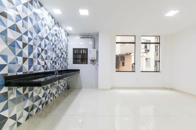 Centro da Cidade 2 qtos 75m² iptu,prédio com elevador (Reformado) - Foto 11
