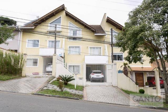 Sobrado com 3 dormitórios à venda no pilarzinho/bom retiro, 135 m² por r$ 530 mil