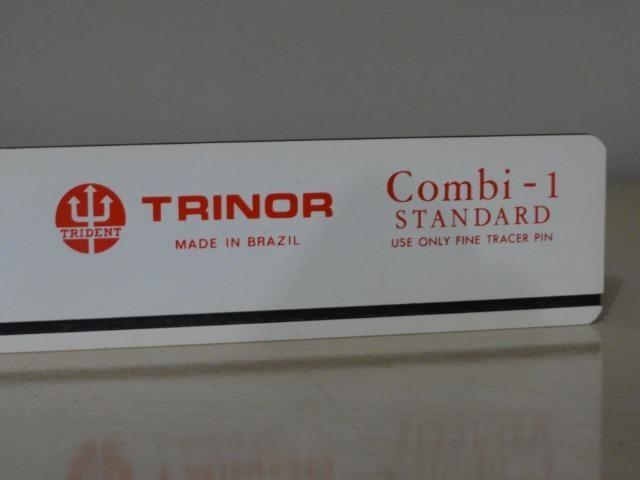 Régua Para Normógrafo Combi-1 Trident Trinor, Nova