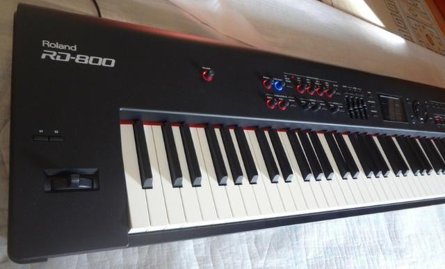Piano Digital Roland RD 800 estudo troca - Foto 4