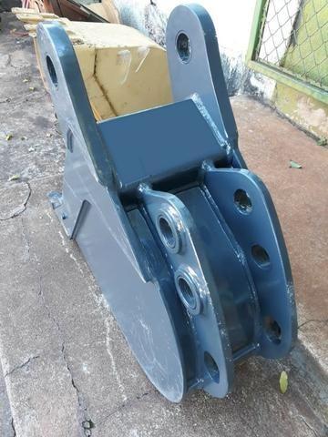 "Caçamba de Retro Escavadeira Case 580N 300mm, 12"" - Foto 4"