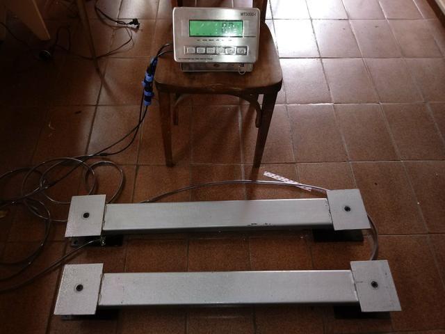 Gradil para balança de barras bovino.Temos opção com a balança de barras, sob consulta - Foto 2