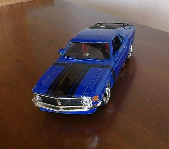 Mustang Boss 302 1970 Maisto Pro Rodz 1/24 - Foto 2