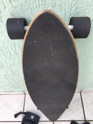 Long board Xseven c equipamentos de proteção - Foto 2