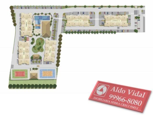 ARV 53- O Melhor Apto 2 quartos 65m² de Laranjeiras. Buritis Condomínio Clube - Foto 3