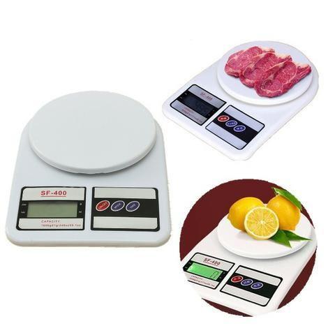 Balança Digital Eletrônica Pesa 1gr Até 10kg Cozinha Sf-400 - Foto 2