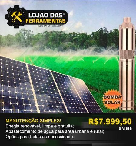 Bomba Solar Com Painel ZM
