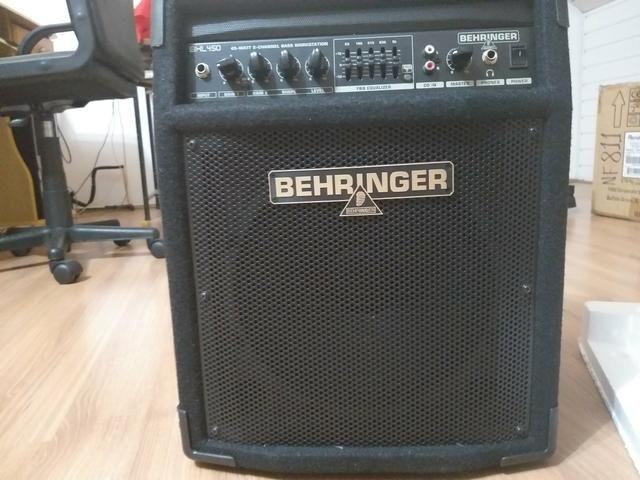 Amplificador beringher pra baixo novo