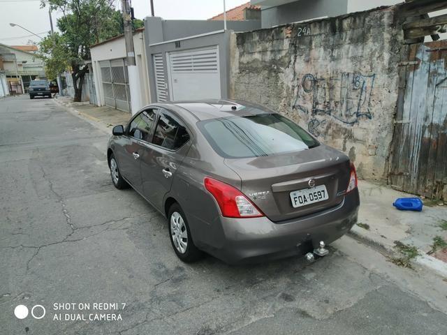 Nissan Versa S 1.6 16v 2014 (venda e troca) - Foto 2