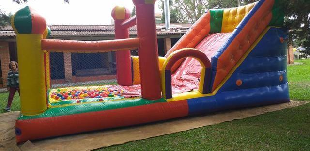 Aluguel de brinquedos , mesas cadeiras e infláveis - Foto 6
