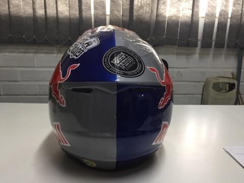 Capacete Red Bull - Foto 3