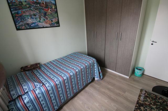 Capão Raso 3 dormitórios churrasqueira a carvão em condomínio Club - Foto 8
