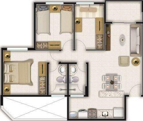 Apartamento no melhor do Passaré, próx. do BNB, defronte a Praça Dr. Nilo Henrique - Foto 20