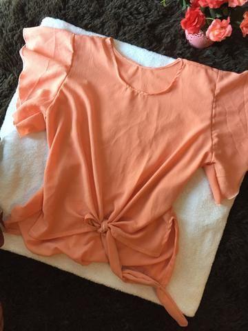 Shorts, blusas e macacão - Foto 6