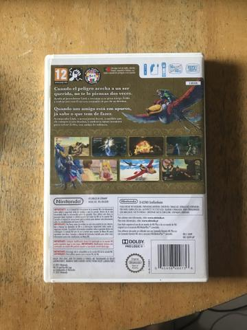 Zelda Skyward Sword - Jogo Nintendo Wii