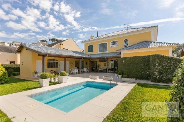 Casa com 5 dormitórios à venda, 439 m² por r$ 2.100.000,00 - santo inácio - curitiba/pr