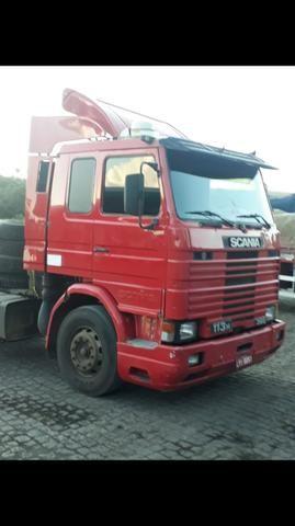 Scania 113/ 360/Cv/ Ano 97/97 Motor Novo