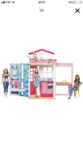Vendo casinha da Barbie.