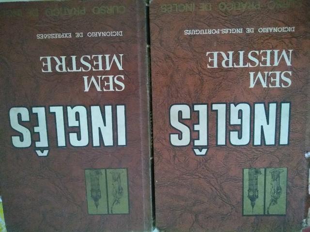 Livros Inglês sem mestre