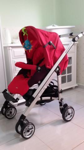 Carrinho Bebèconfort Safety, armação em alumínio