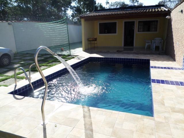 Disponivel !!! Casa com piscina para temporada no Gaivota em Itanhaém, ha 800 mt da Praia