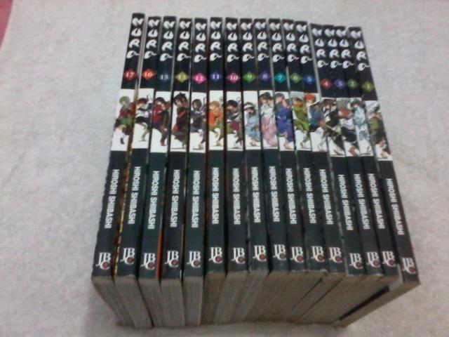 Coleção de mangás Nura a Ascensão do Clã das Sombras > Volume 1 ao 17 (Faltando volume 14)