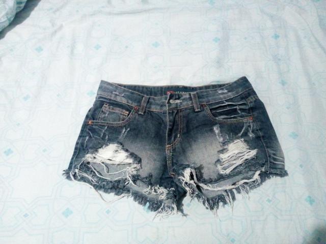 Short pool jeans