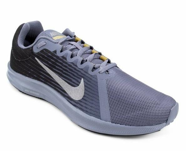1247633f4eb35 Tênis Nike Downshifter 8 Masculino - Preto e Cinza