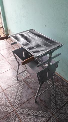 Churrasqueira de alumínio fundindo - Foto 4
