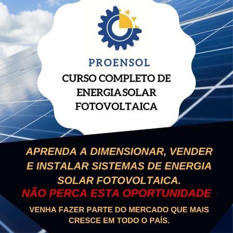 Curso completo de Energia Solar Fotovoltaica - Residencial e Empresarial