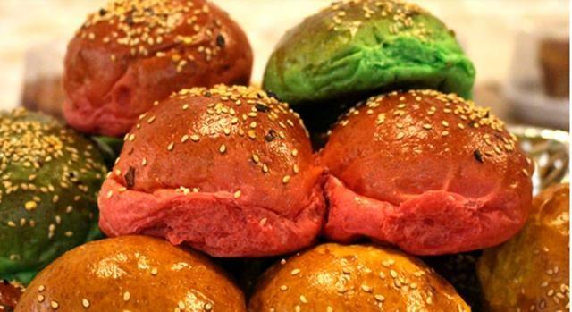 Pães de hambúrguer e hot dog