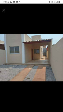 Casa nova com suite e porcelanato  Itbi Registro incluso