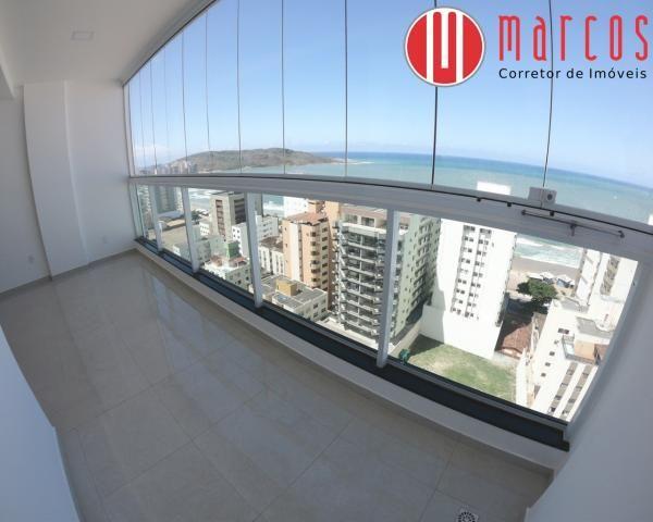 Apartamento para locação 3 quartos, amplo e novíssimo na Praia do Morro. - Foto 5