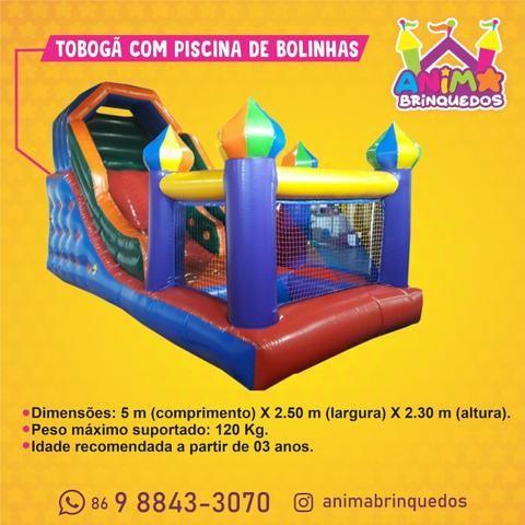Brinquedo inflavel para a sua festa - Foto 2