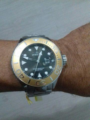 Relógio Invicta 300metros Importado de mergulho profissional de quartzo (modelo: 28767) - Foto 3