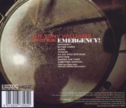 The Tony Williams Lifetime - Emergency! - Foto 2