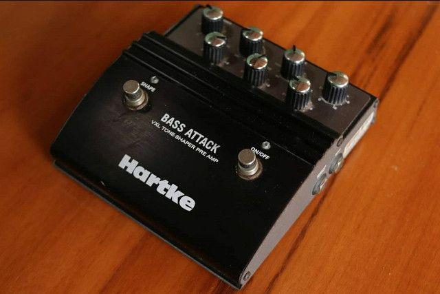Pedal Hartke VXL Bass Attack para Contra Baixo