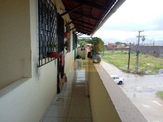 Apartamento com 2 dormitórios para alugar, 55 m² por R$ 390,00/mês - Siqueira - Fortaleza/ - Foto 2