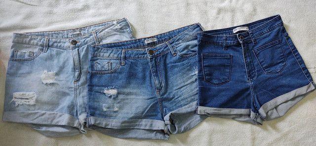 Kit 3 shorts Jeans BlueSteel