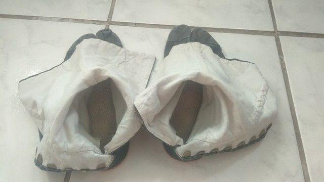 """Calçada """"Ninja shoes"""" da India, bem usado, pe 27 cm - Foto 6"""